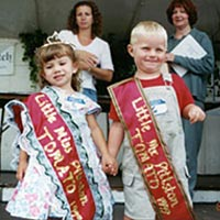 Little Miss and Little Mr. Pittston Tomato Festival, 1999