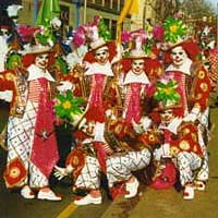 Polish American String Band in 1993 Mummers Parade