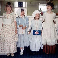 Children's Colonial Costume Contest