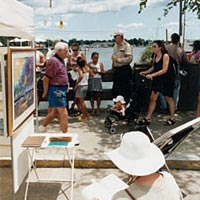Wickford Art Festival, July 1998