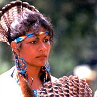 Bella Noka, winner of Eastern Blanket Dance Championship, Oct. 1999