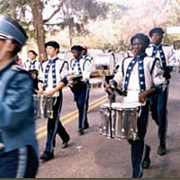 Heritage Days Marching Band, November 1999