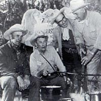 Inaugural Salt Grass Trail Ride, 1952