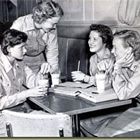 WACs at Camp Lee (late 1949) enjoyed recreational activities