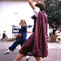 Highland dancing at the Taste of the Mountains Festival