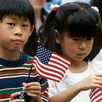 New Citizens at Monticello, July 4, 1995