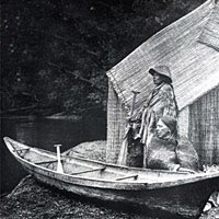 Skokomish fishing camp