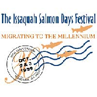 Cancellation stamp of 30th Salmon Days Festival