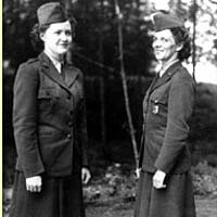 Women working as park rangers during WW II