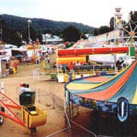 Mannington District Fair Midway, 1999