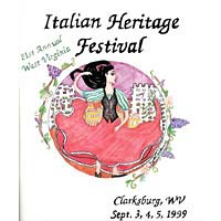 1999 Italian Heritage Festival Program Cover