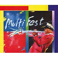 Cover of 1995 Multi-Fest program