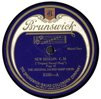 "New Britain: C. M. (""Original Sacred Harp""). [sound recording]"