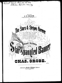 The star-spangled banner with brilliant variations, op. 490 [sheet music]