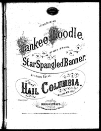 The star spangled banner [sheet music]