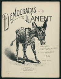 Democracy's Lament [Sheet music]