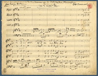 Elfin song [manuscript score]