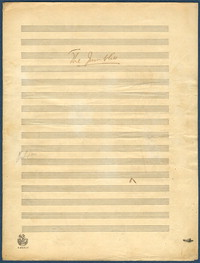 The jumblies: op. 68, no.4. [manuscript score]