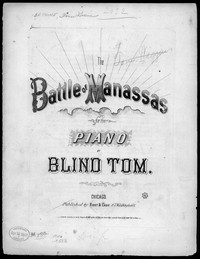 The Battle of Manassas [sheet music]