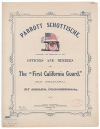 Parrott schottische [sheet music]