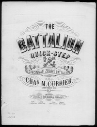 Zouave battalion quickstep [sheet music]