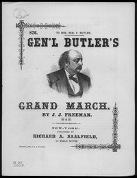 Butler's triumphal march [sheet music]