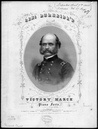 Genl. Burnside's victory march [sheet music]