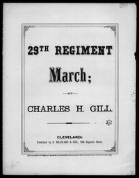 29th Regiment march [sheet music]