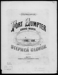 Fort Sumpter (sic) grand march [sheet music]