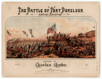 The Battle of Fort Donellson, a musical description [sheet music]