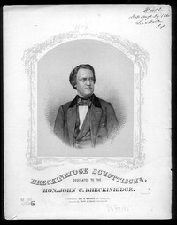Breckinridge schottische [sheet music]