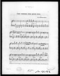 Fort Federal Hill quickstep [sheet music]