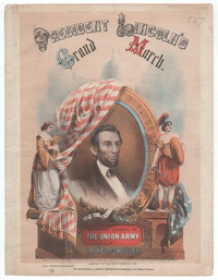 President Lincoln's grand march [sheet music]