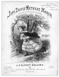 Jeff Davis' retreat march [sheet music]