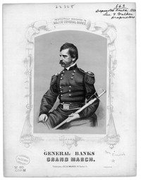General Banks' grand march [sheet music]