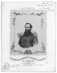 Gov. Geary's grand march [sheet music]