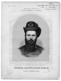 General Grant's grand march [sheet music]