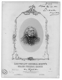Lieutenant General Scott's grand funeral march [sheet music]