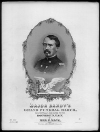 Major J. H. Dandy's grand funeral march [sheet music]