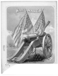 War march [sheet music]