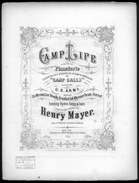 Camp life [sheet music]