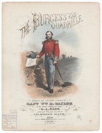The Burgesses quadrille [sheet music]