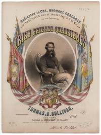 Irish brigade quadrille [sheet music]