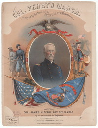 Col. James H. Perry's grand march [sheet music]