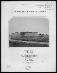 Sounds from Fort Delaware, grand waltz [sheet music]
