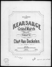 Kearsarge grand march [sheet music]