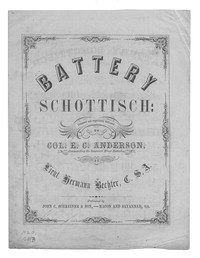 Battery schottisch [sheet music]