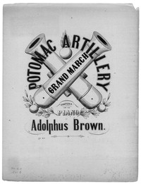 Potomac artillery grand march [sheet music]