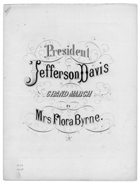 President Jefferson Davis grand march [sheet music]