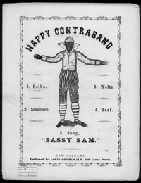 Happy contraband polka [sheet music]